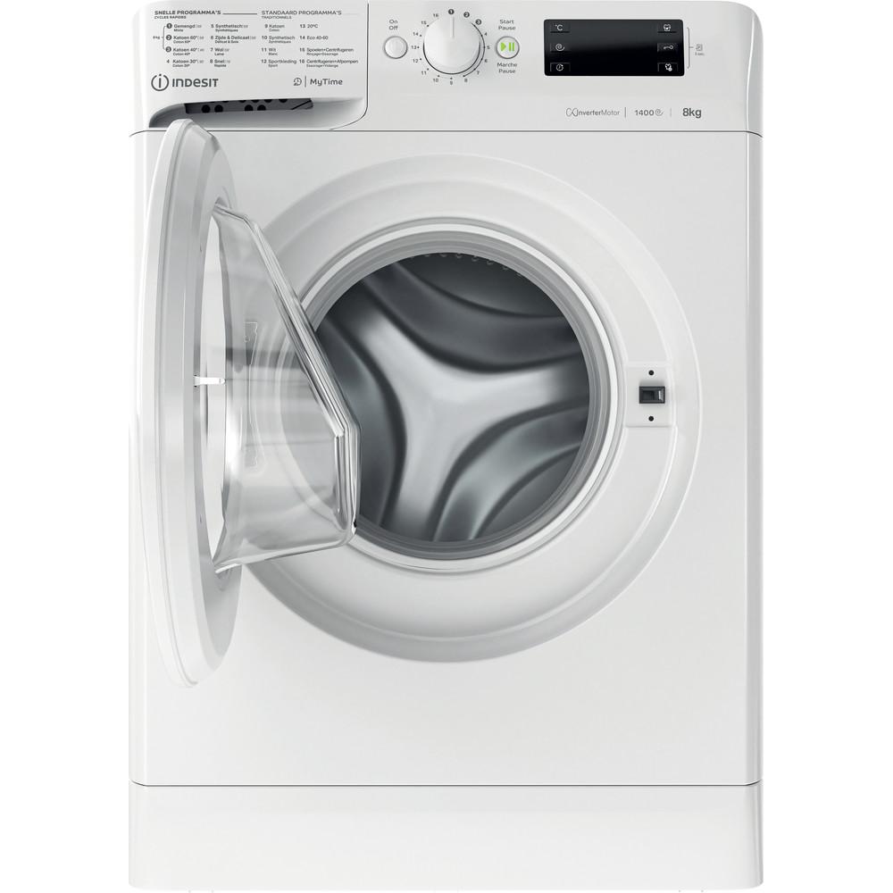 Indesit Wasmachine Vrijstaand MTWE 81483 W BE Wit Voorlader D Frontal open