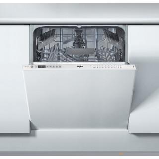 Посудомийна машина Whirlpool інтегрована: колір нержавіючої сталі, повногабаритна - WIO 3C23 6.5 E