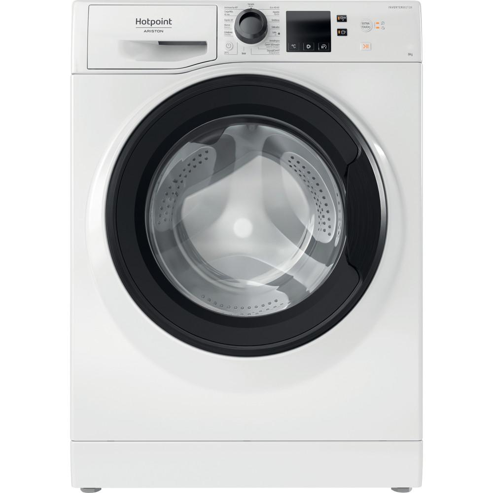 Hotpoint_Ariston Máquina de lavar roupa Livre Instalação NS 823 WK SPT N Branco Carga Frontal D Frontal