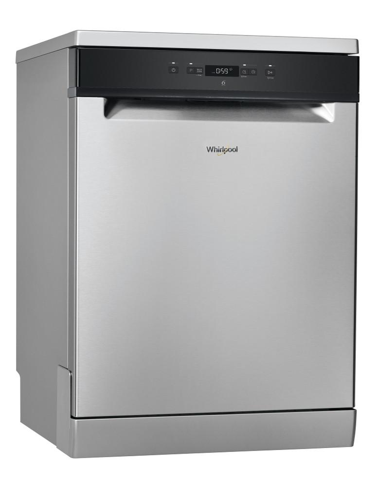 Whirlpool Dishwasher مفرد WFC 3C26 X 60HZ مفرد A++ Perspective