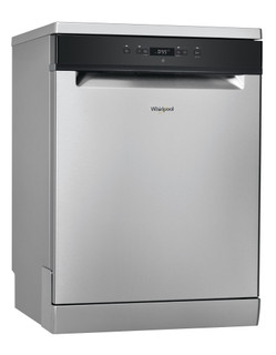 Whirlpool dishwasher: inox color, full size - WFC 3C26 X 60HZ