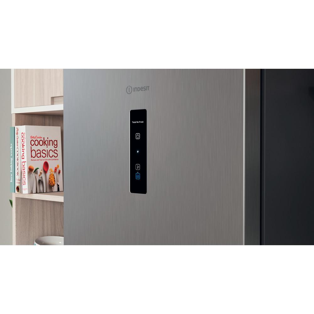 Indesit Холодильник с морозильной камерой Отдельностоящий ITR 5180 X Inox 2 doors Lifestyle control panel