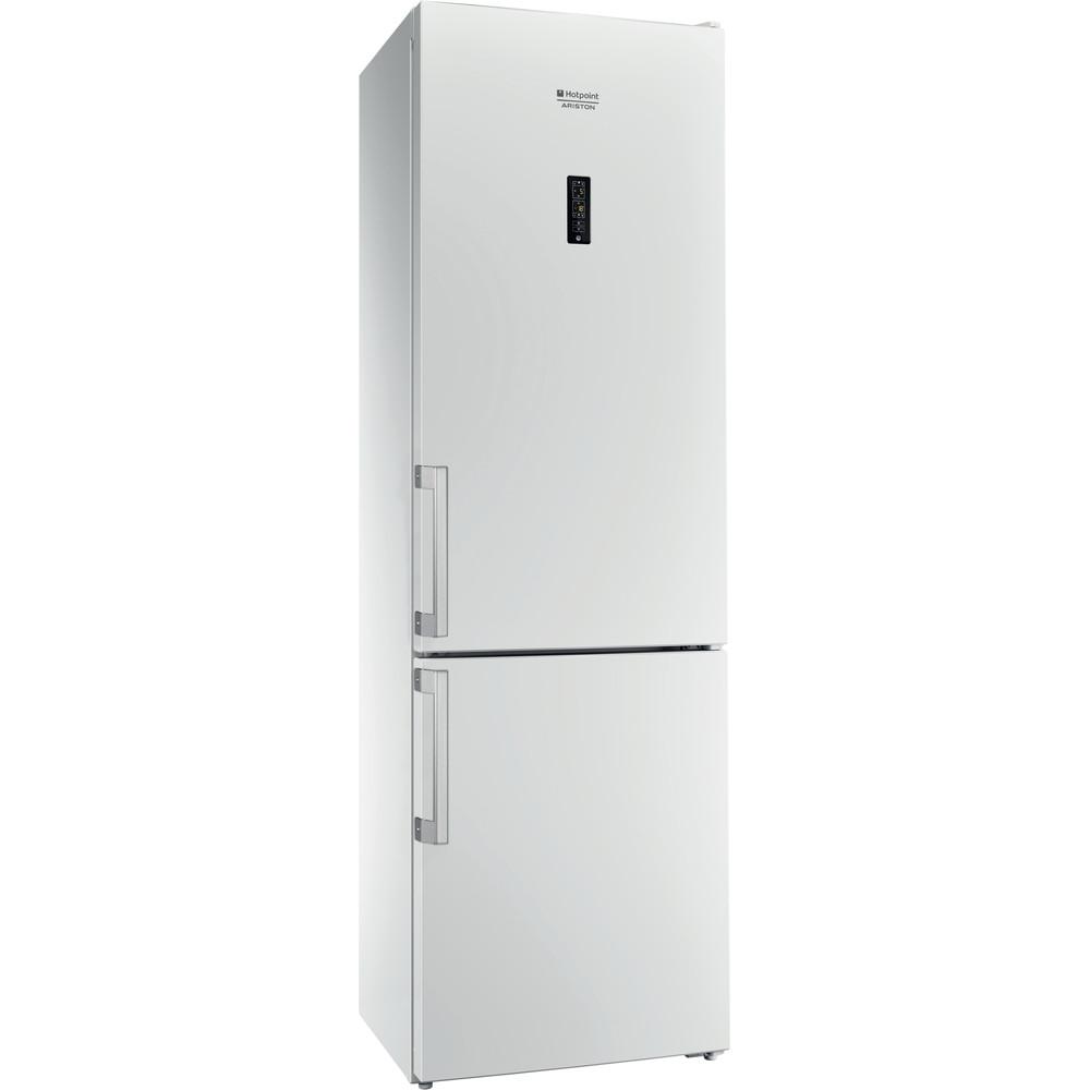 Hotpoint_Ariston Комбинированные холодильники Отдельностоящий HFP 6200 W Белый 2 doors Perspective