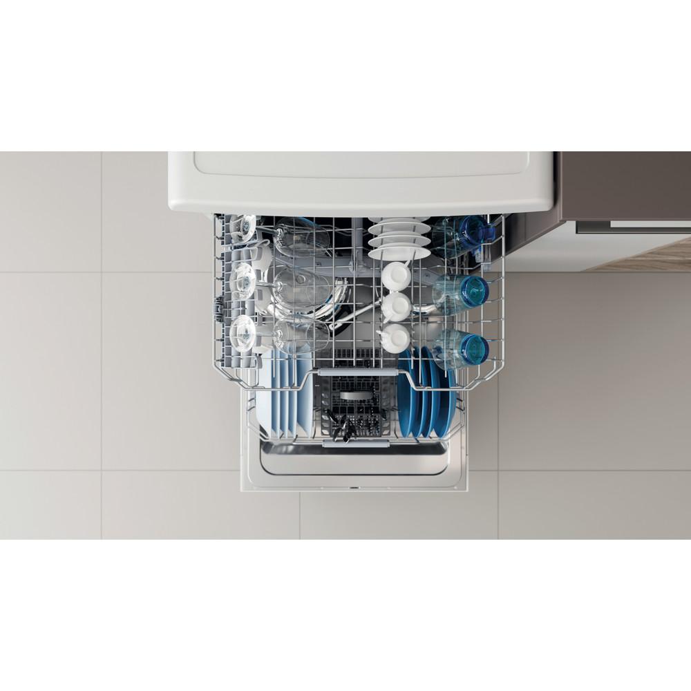 Indesit Dishwasher Free-standing DFC 2B+16 UK Free-standing F Rack