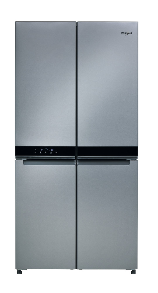 Whirlpool Side-by-Side Free-standing WQ9 B1L M Stainless Steel Frontal