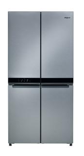 Whirlpool side-by-side amerikansk køleskab: inox-farve - WQ9 B1L