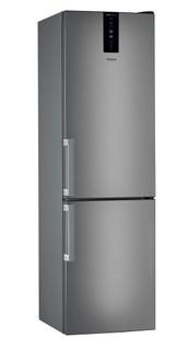 Свободностоящ комбиниран хладилник Whirlpool - W7 832T MX H