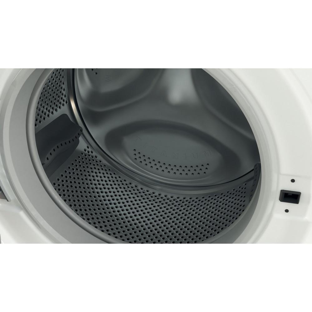Indesit Lavabiancheria A libera installazione BWE 101484X WS IT Bianco Carica frontale C Drum