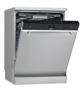 Съдомиялна Whirlpool: цвят инокс, стандартен размер - WFO 3O33 PL X