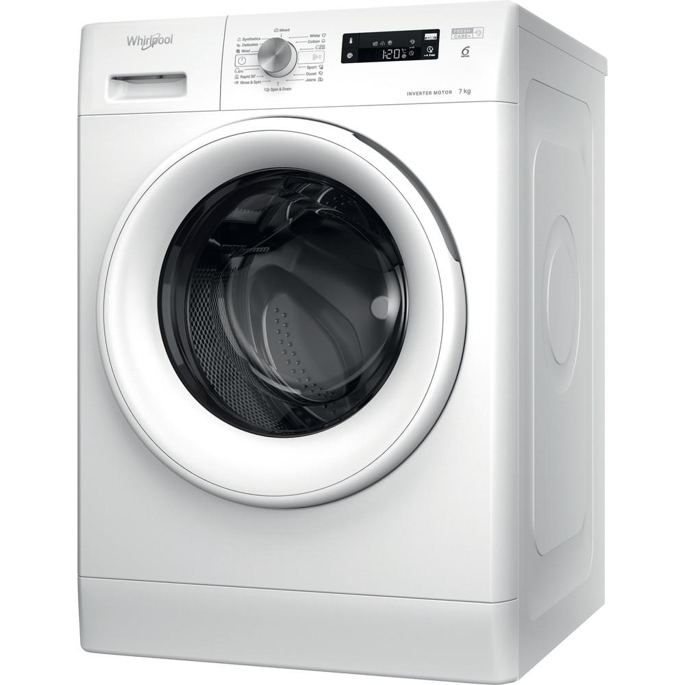 Whirlpool frontmatet vaskemaskin: 7,0 kg - FFS 7438 W EE
