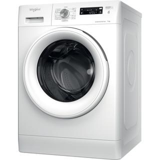 Whirlpool Perilica za rublje Samostojeći FFS 7238 W EE Bijela Prednje punjenje D Perspective