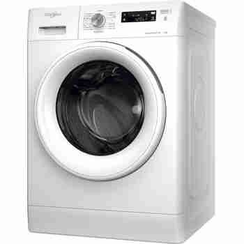 Whirlpool Maşină de spălat rufe Independent FFS 7238 W EE Alb Încărcare frontală D Perspective