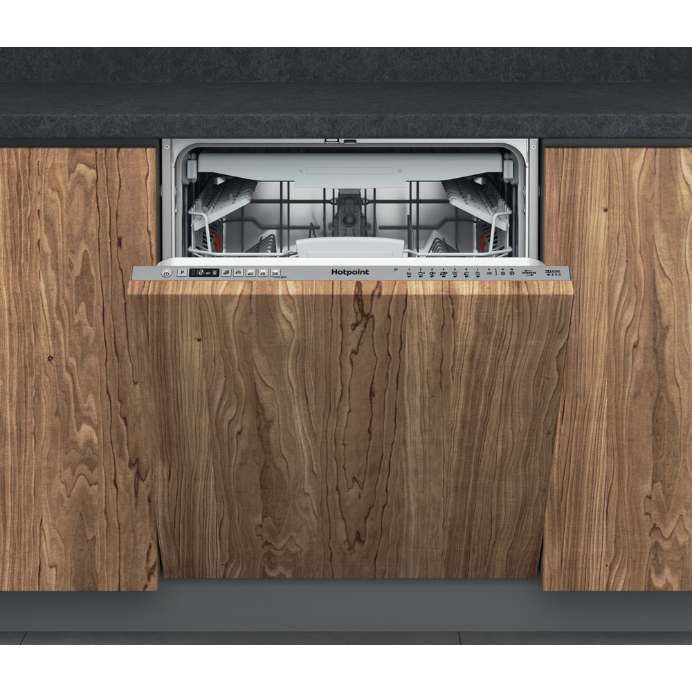 Hotpoint Dishwasher Built-in HIO 3T241 WFEGT UK Full-integrated C Frontal