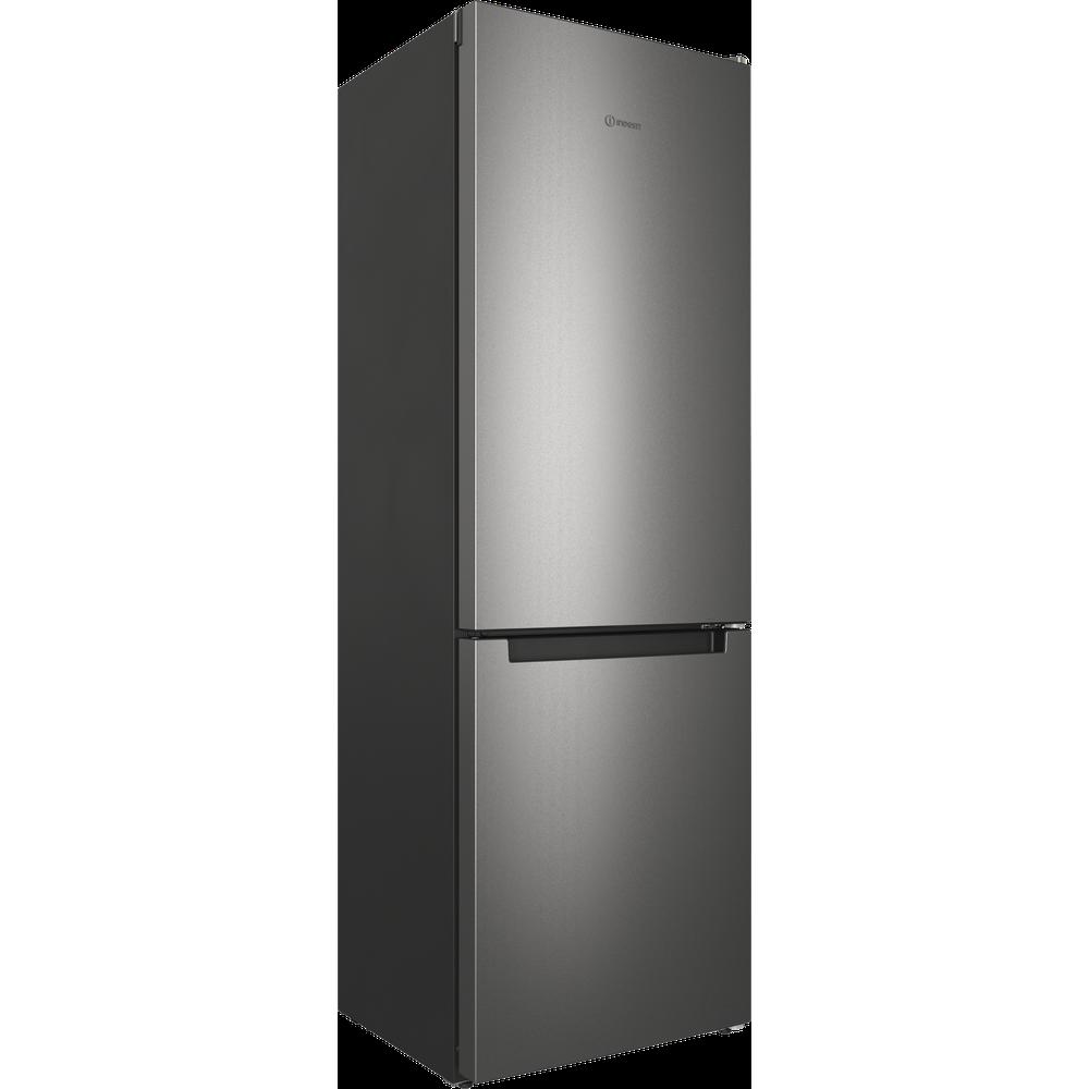 Indesit Холодильник с морозильной камерой Отдельностоящий ITS 4180 S Серебристый 2 doors Perspective