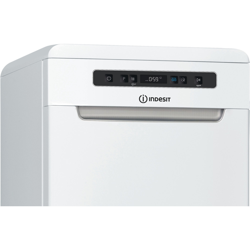 Indesit Dishwasher Free-standing DSFO 3T224 Z UK N Free-standing E Control panel