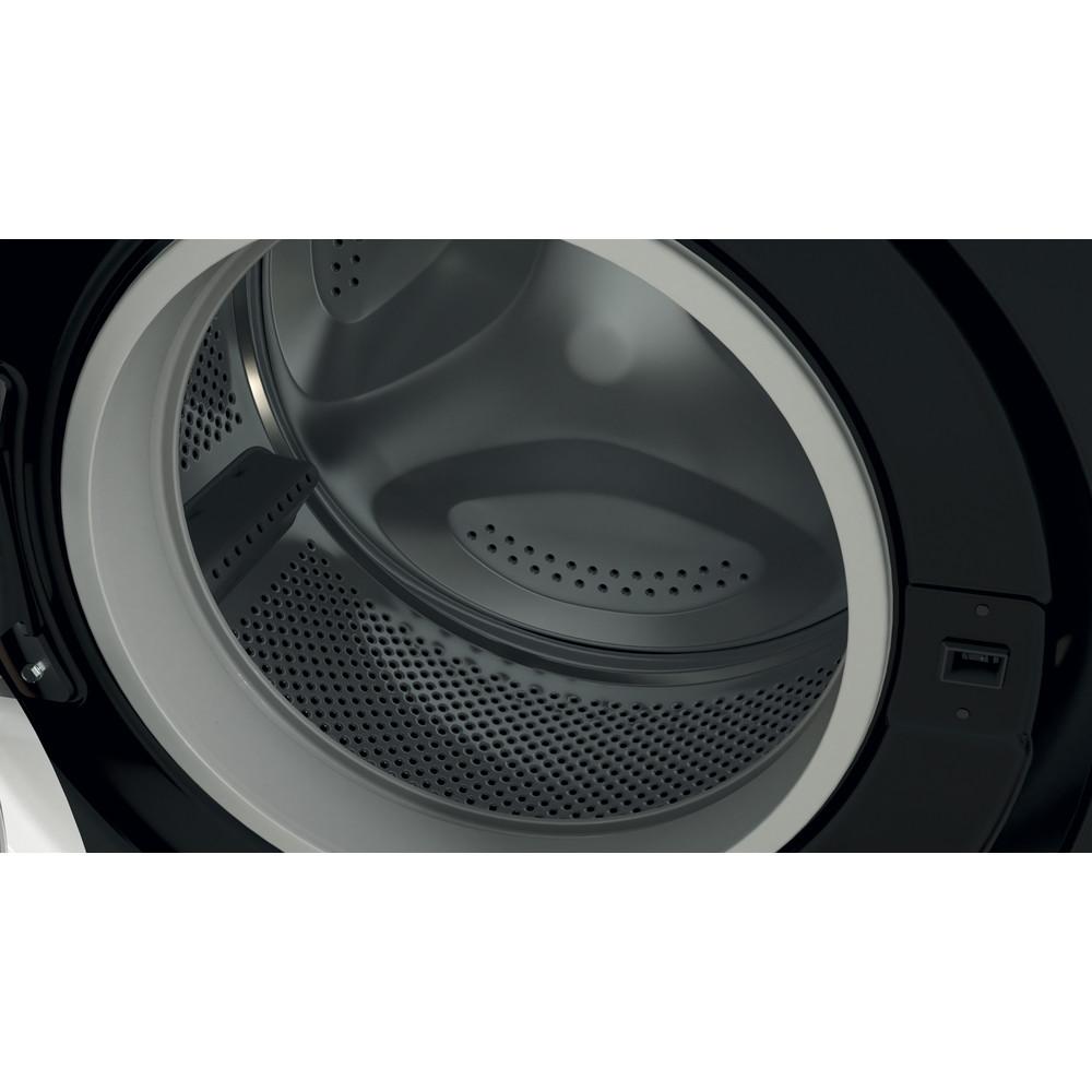 Indesit Washing machine Free-standing BWE 71452 K UK N Black Front loader E Drum