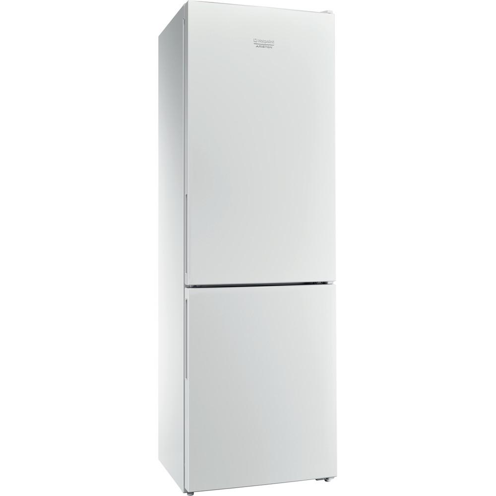 Hotpoint_Ariston Комбиниран хладилник с фризер Свободностоящ XH8 T1I W Бял 2 врати Perspective