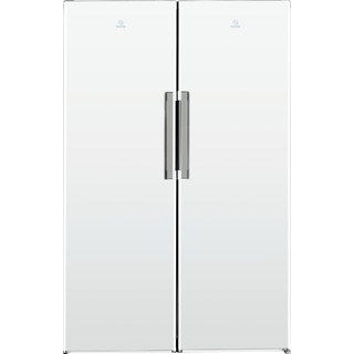Indesit Refrigerator Free-standing SI8 1Q WD UK 1 Global white Frontal