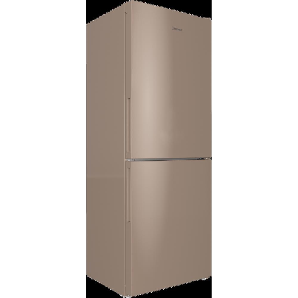Indesit Холодильник с морозильной камерой Отдельностоящий ITR 4160 E Розово-белый 2 doors Perspective