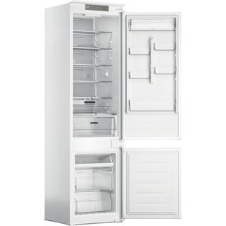 Whirlpool Kombinētais ledusskapis/saldētava Iebūvējams WHC20 T352 Balta 2 doors Perspective open