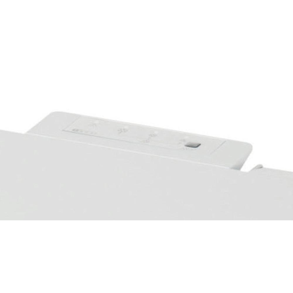 Indesit Saldētava Brīvi stāvošs OS 1A 200 H Balts Control panel