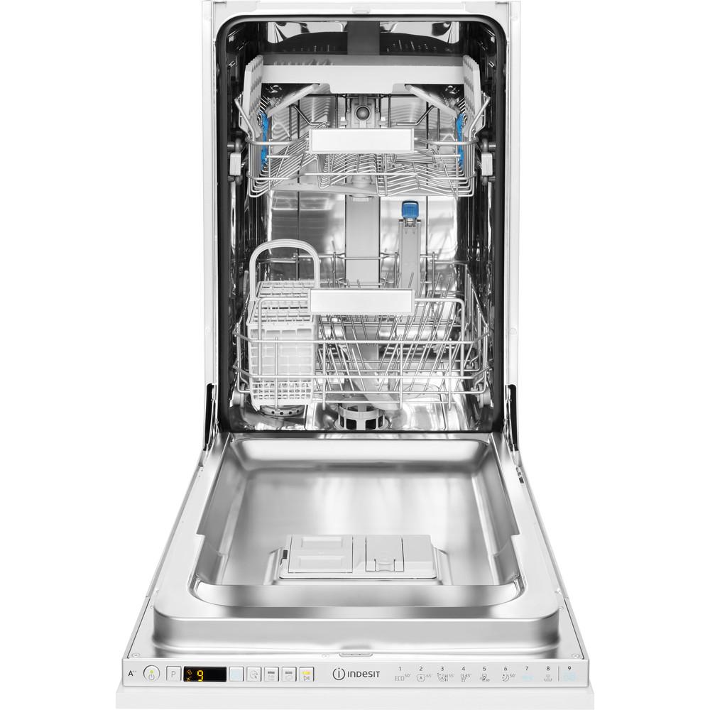 Indesit Máquina de lavar loiça Encastre DSIO 3T224 Z E Encastre total A++ Frontal open