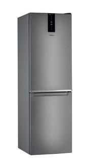 Whirlpool szabadonálló, alulfagyasztós hűtő-fagyasztó: fagymentes - W7 831T MX