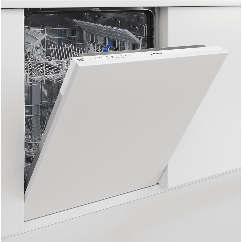 Indesit Lavastoviglie Da incasso DIE 2B19 A S Totalmente integrato F Lifestyle control panel
