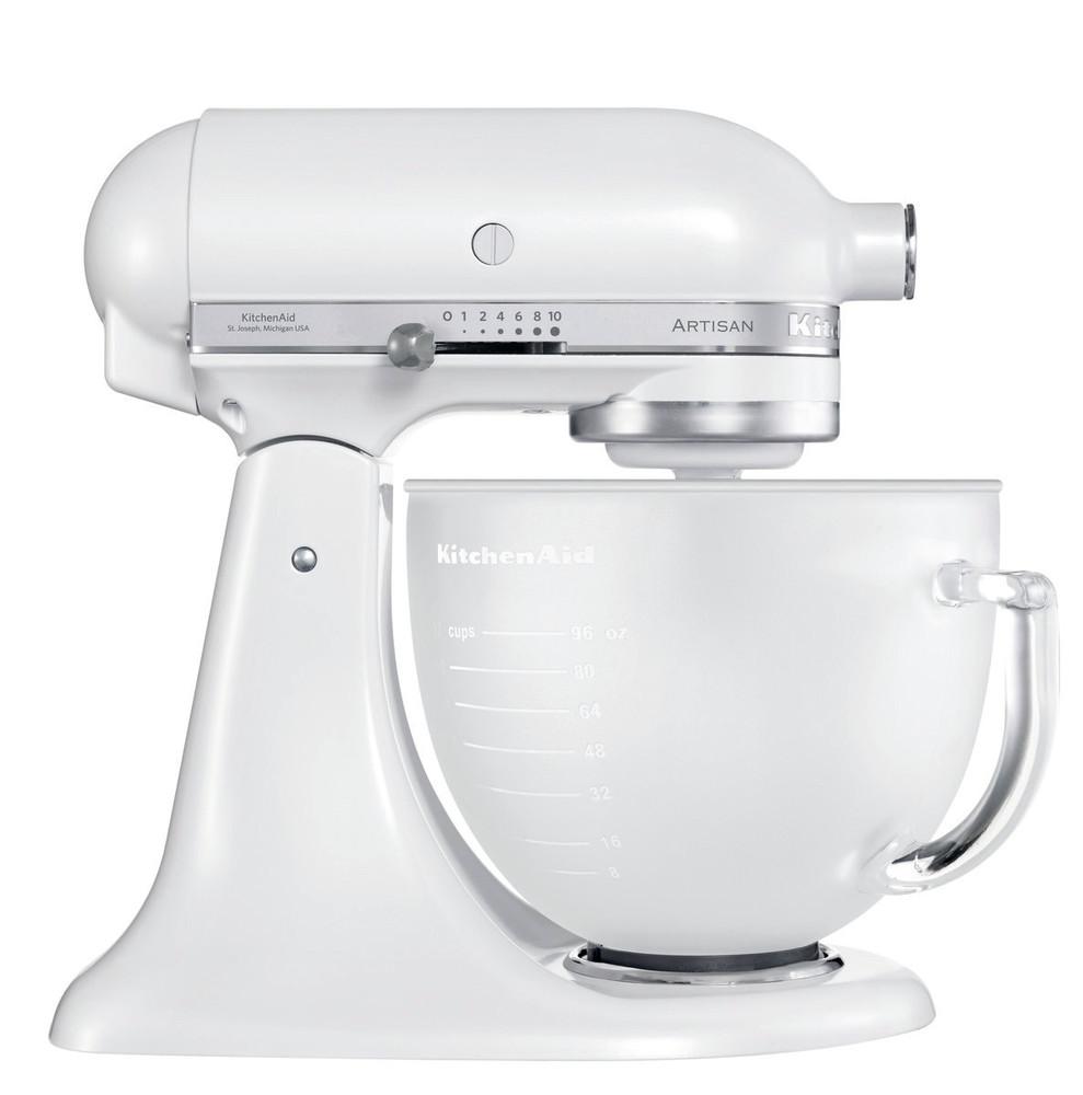 Per accessori kitchenAid 5KFE5T Frusta Piatta Bordo Flessibile per robot 4,8L IT