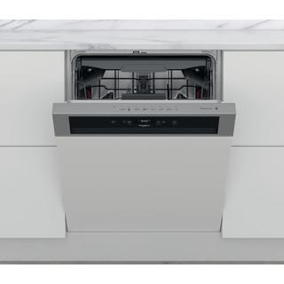 Whirlpool Πλυντήριο πιάτων Εντοιχιζόμενο WBC 3C34 PF X Half-integrated D Frontal