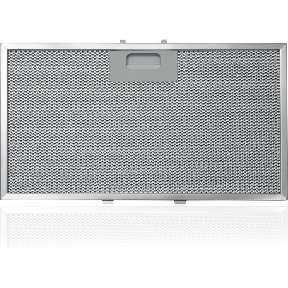 Indesit Вытяжной шкаф Встраиваемый IHVP 6.4 LL K Черный Wall-mounted Электронное Filter
