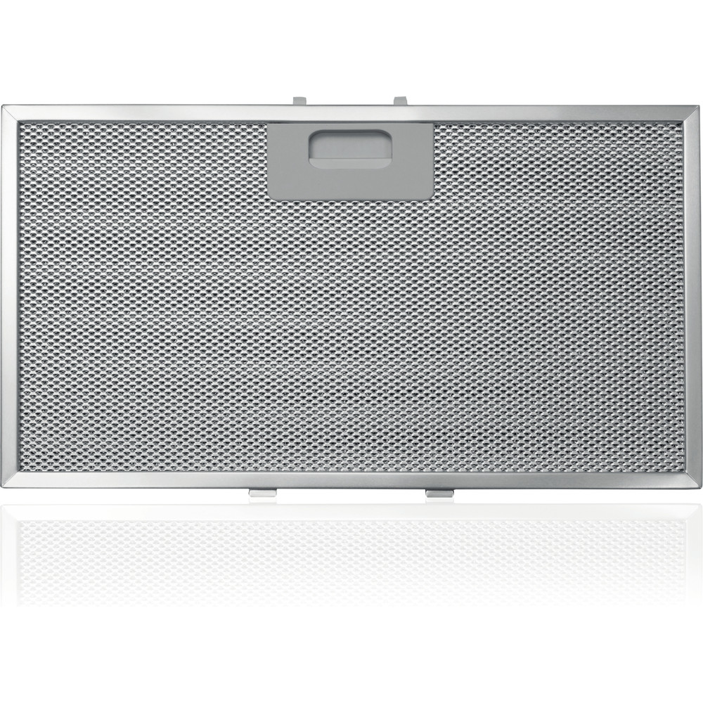 Indesit HOOD Built-in IHVP 6.4 LL K Black Wall-mounted Electronic Filter