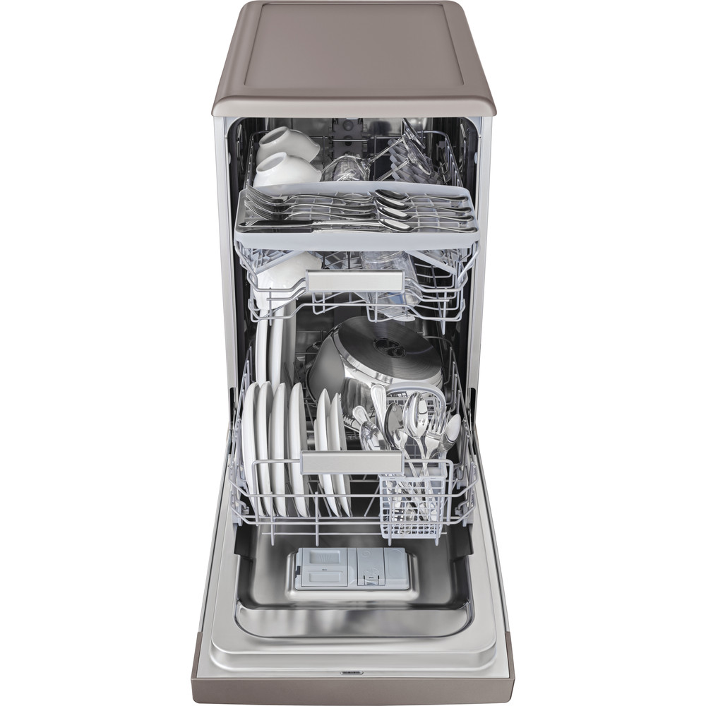 Indesit Umývačka riadu Voľne stojace DSFO 3T224 C S Voľne stojace A++ Frontal open