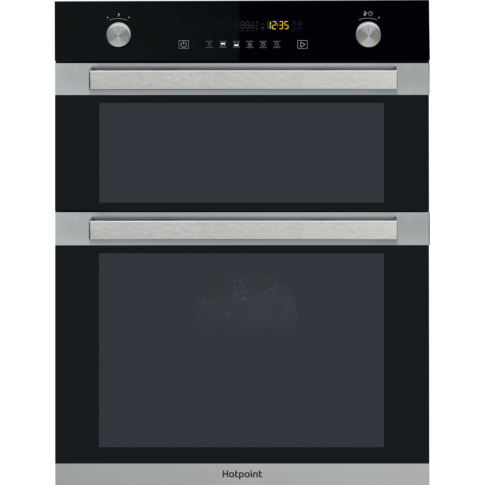 Hotpoint Double oven DXD7 912 C IX Inox A Frontal