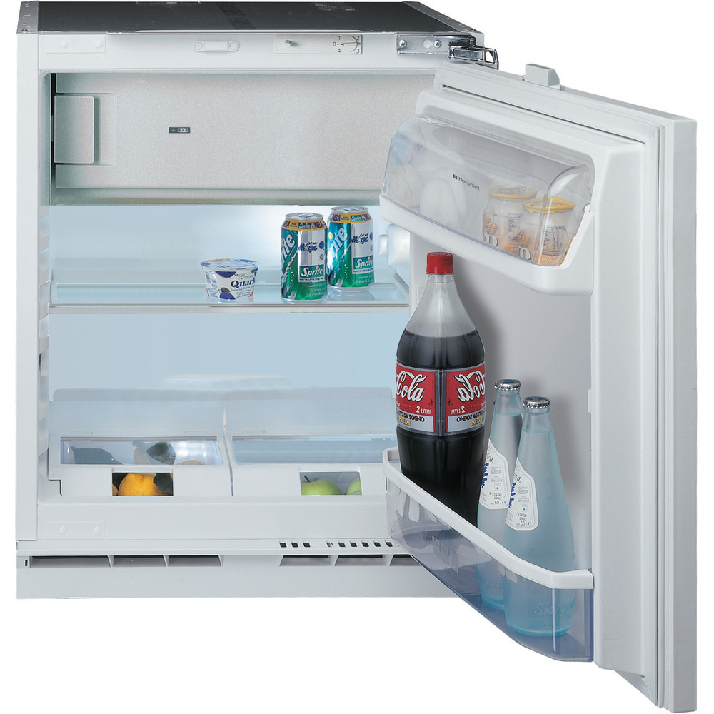 Hotpoint Refrigerator Built-in HF A1.UK 1 Steel Frontal open
