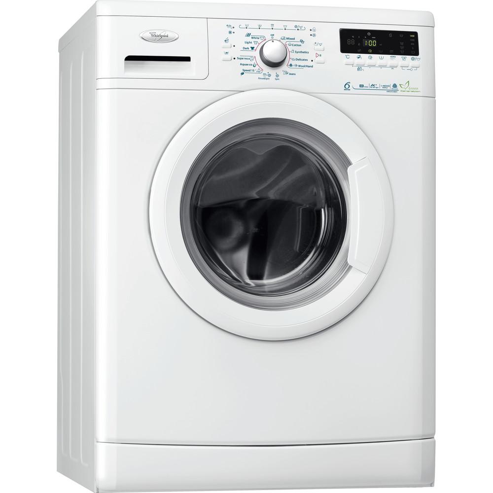 Whirlpool frontmatad tvättmaskin: 8 kg - AWO/D 8001