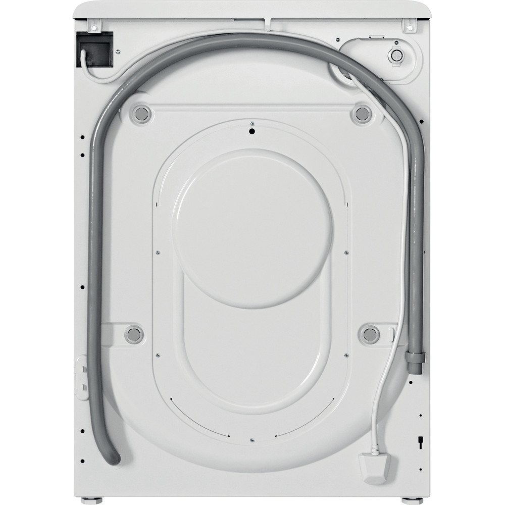 Indesit Washing machine Free-standing BWE 101683X W UK N White Front loader D Back / Lateral