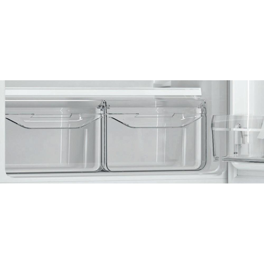 Indesit Холодильник с морозильной камерой Отдельностоящий DSN 16 Белый 2 doors Drawer