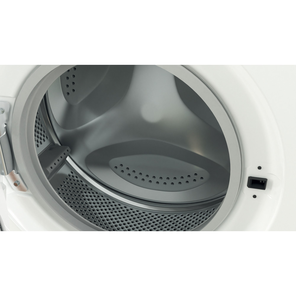 Indesit Veļas mazgājamā mašīna Brīvi stāvošs EWUD 41251 W EU N Balts Priekšējās ielādes F Drum