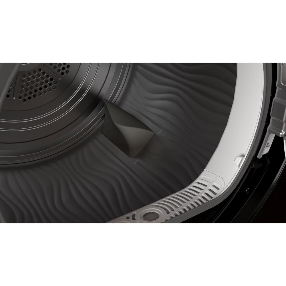Indesit Dryer I2 D81B UK Black Drum
