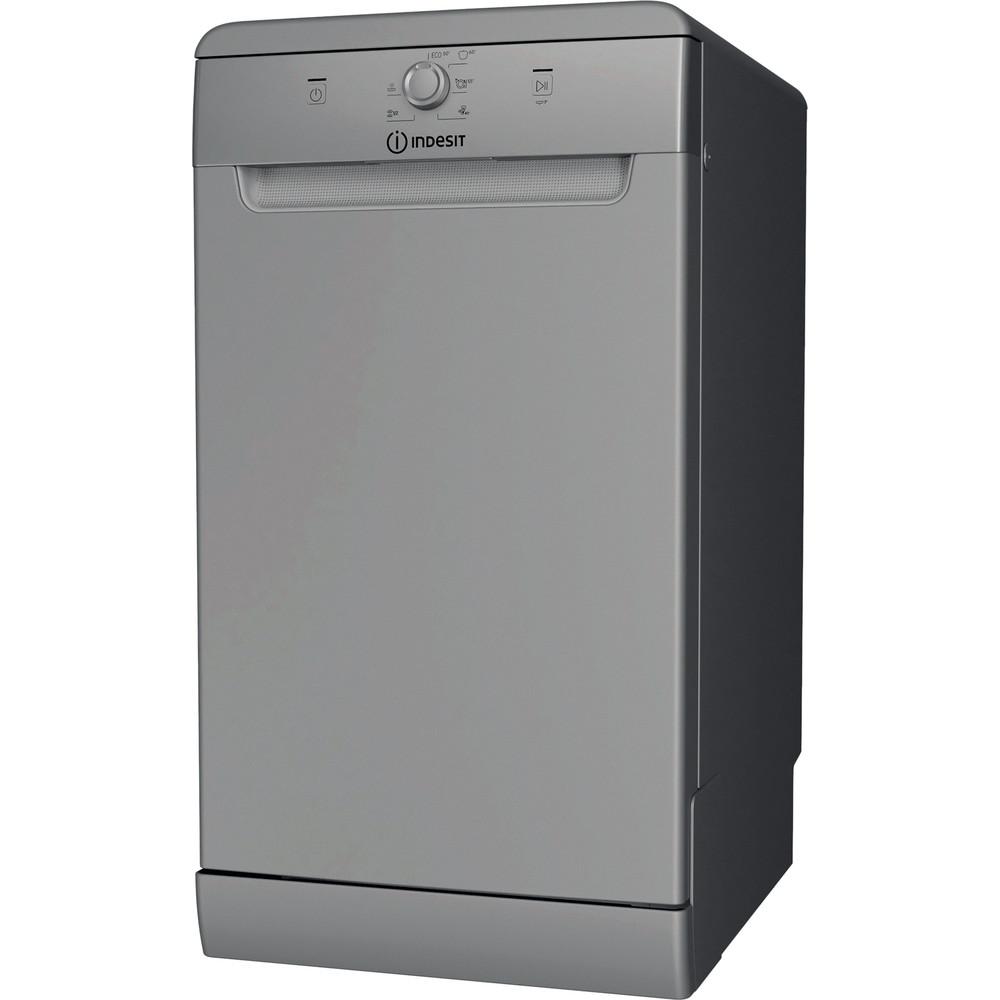 Indesit Посудомийна машина Соло DSFE 1B10 S Соло A+ Perspective