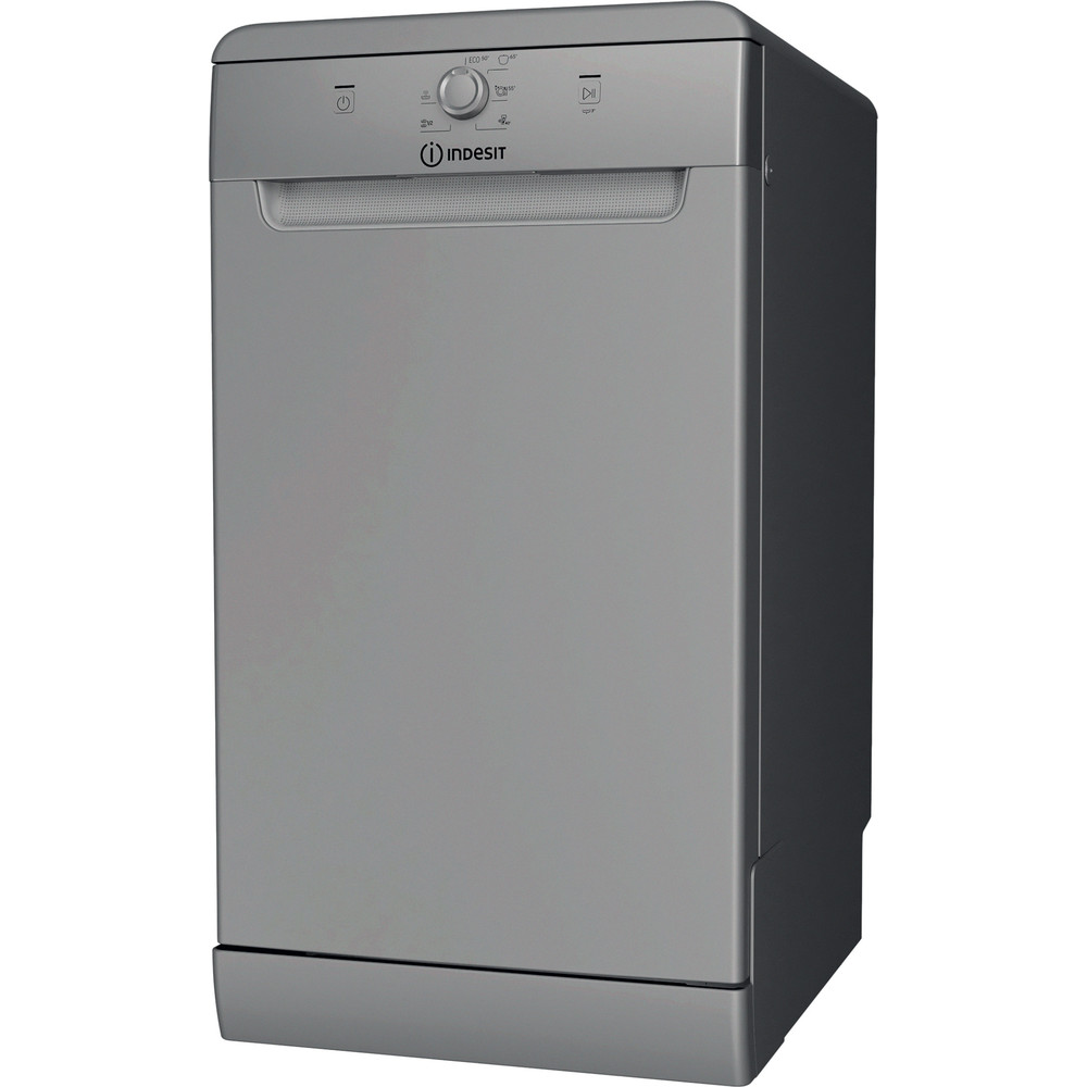 Indesit Umývačka riadu Voľne stojace DSFE 1B10 S Voľne stojace A+ Perspective