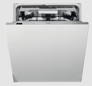 Kalusteisiin sijoitettava Whirlpool astiapesukone: Ruostumaton, Täysikokoinen - WIO 3O41 PL