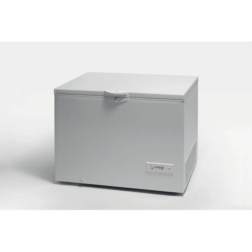 Indesit Морозильная камера Отдельно стоящий OS 1A 300 H 2 Белый Lifestyle perspective