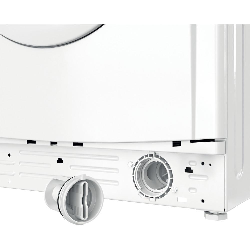 Indesit Washer dryer Free-standing IWDD 75145 UK N White Front loader Filter