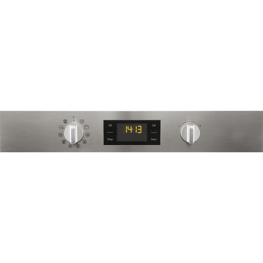Indesit Microgolfoven Inbouw MWI 3445 IX Inox Elektronisch 40 Combimicrogolfoven 900 Control panel
