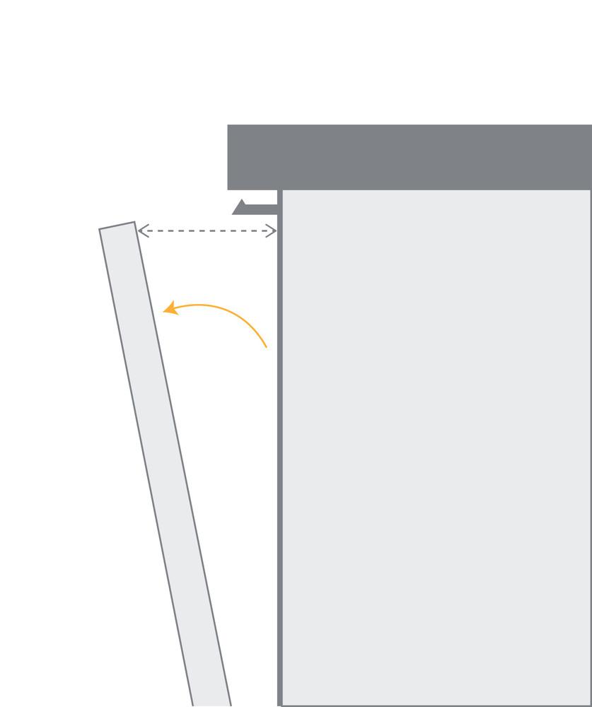 Whirlpool Astianpesukone Kalusteisiin sijoitettava WUC 3O33 PL Työtason alle A+++ Back / Lateral