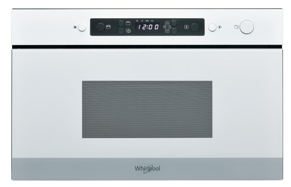 Whirlpool Mikrobangų krosnelė Įmontuojamas AMW 4920/WH Balta Elektroninis 22 MW+Griliaus funkcija 750 Frontal