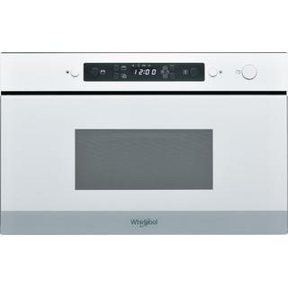 Whirlpool Mikrolaineahi Integreeritav AMW 4920/WH Valge Elektrooniline 22 Mikrolained+grill 750 Frontal