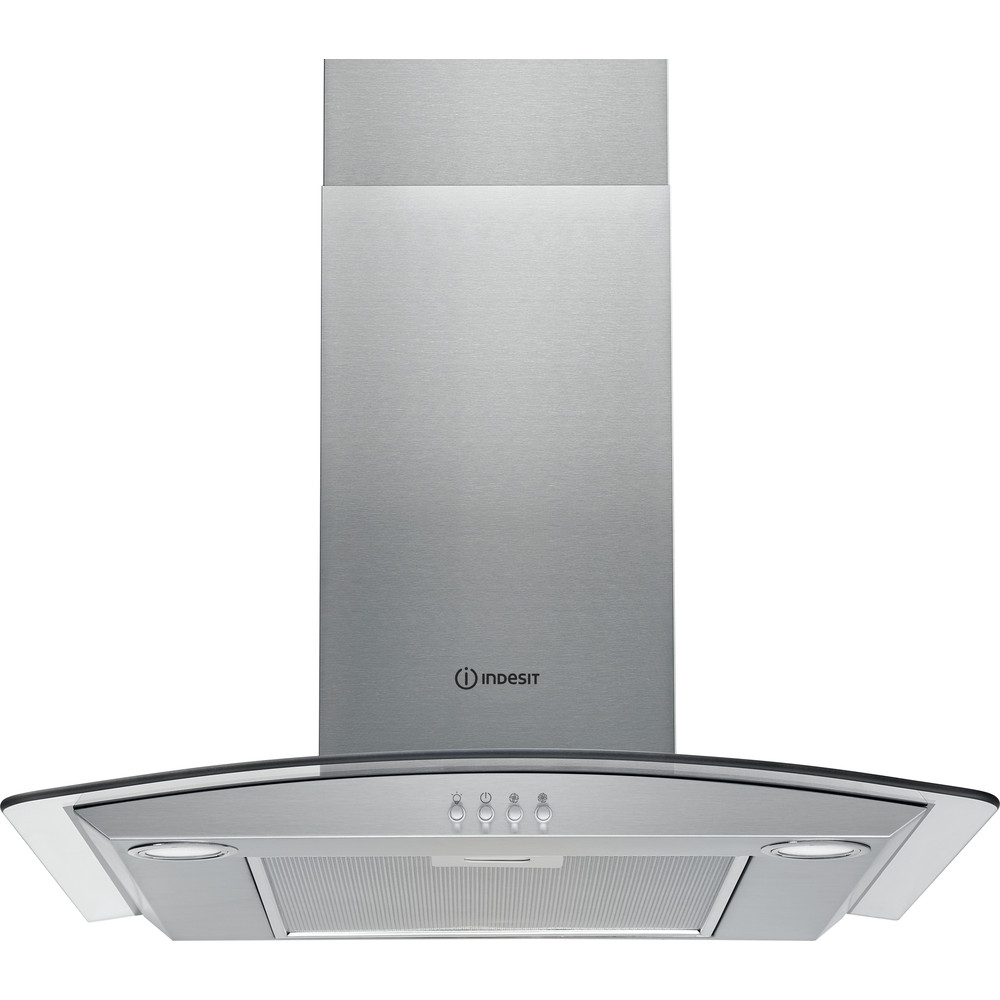 Indesit HOOD Built-in IHGC 6.4 AM X Inox Wall-mounted Mechanical Frontal